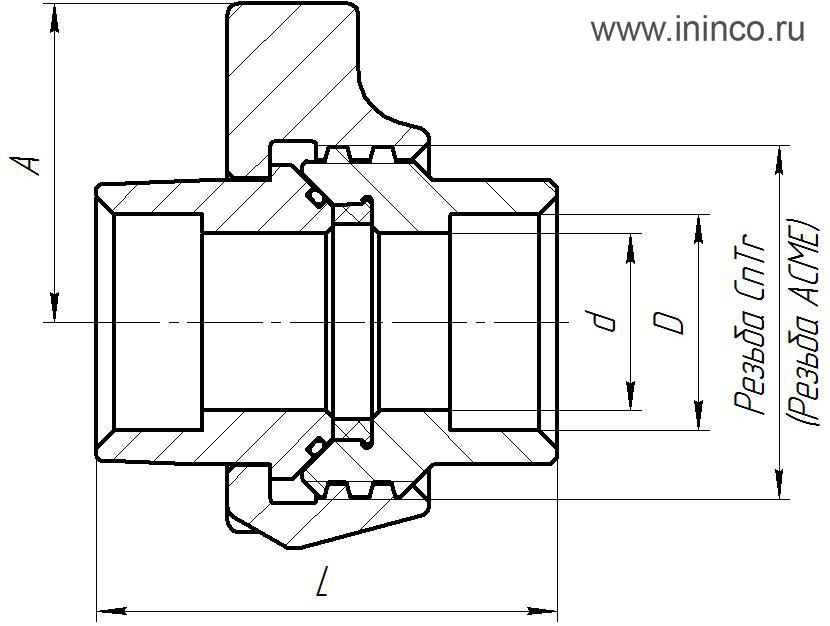 БРС 2 приварка с проточкой_схема