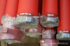 Трубы манифольда упакованные