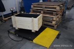 Взвешивание готовой продукции перед отправкой заказчику