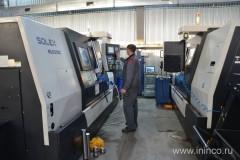 Станки токарные с ЧПУ Solex в работе