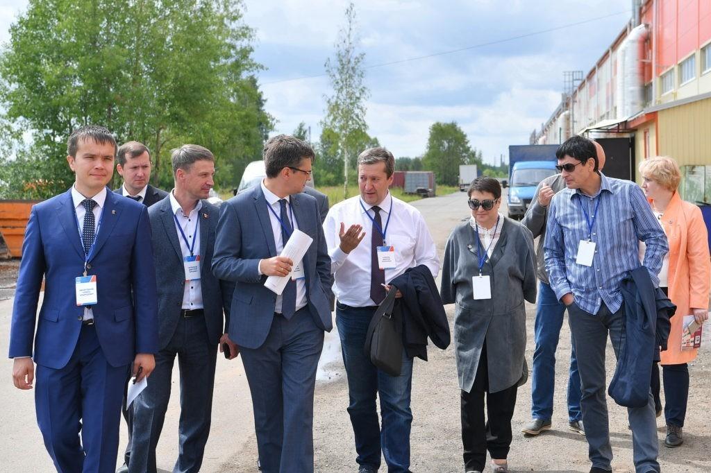 """DSC 8876foto Karipov E 1024x682 - Визит министра экономики на производство компании """"ИПК"""""""