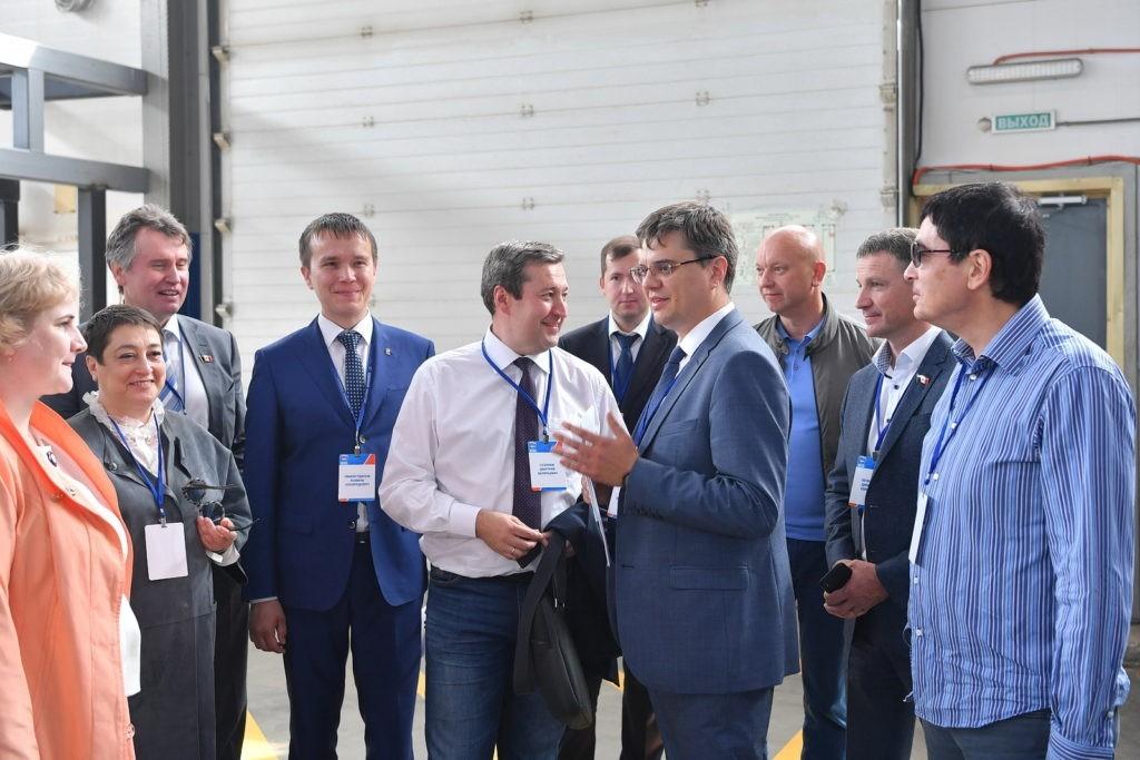 """DSC 8906foto Karipov E 1024x683 - Визит министра экономики на производство компании """"ИПК"""""""