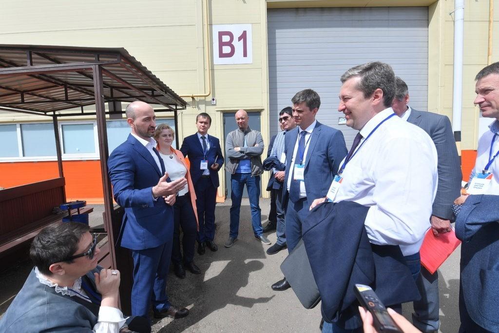 """DSC 8998foto Karipov E 1024x683 - Визит министра экономики на производство компании """"ИПК"""""""